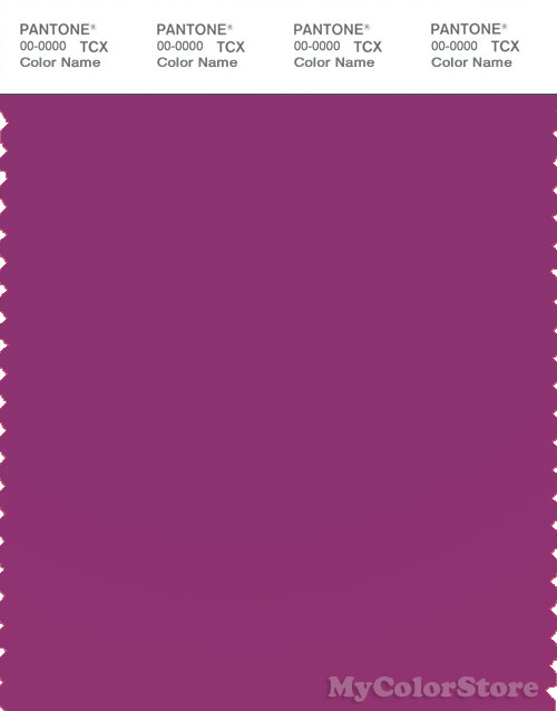 pantone smart 18 2320x color swatch card clover - Clover Color
