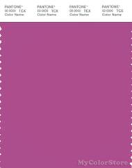 PANTONE SMART 18-3027X Color Swatch Card, Purple Orchid