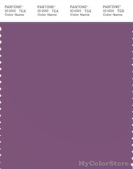 PANTONE SMART 18-3218X Color Swatch Card, Concord Grape