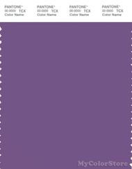 PANTONE SMART 18-3520X Color Swatch Card, Purple Drab