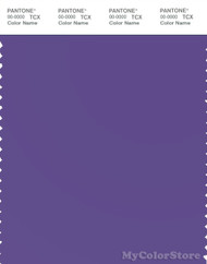 PANTONE SMART 18-3838X Color Swatch Card, Ultra Violet