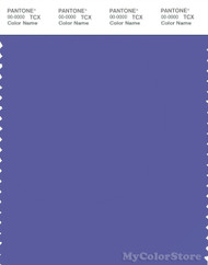 PANTONE SMART 18-3943X Color Swatch Card, Blue Iris