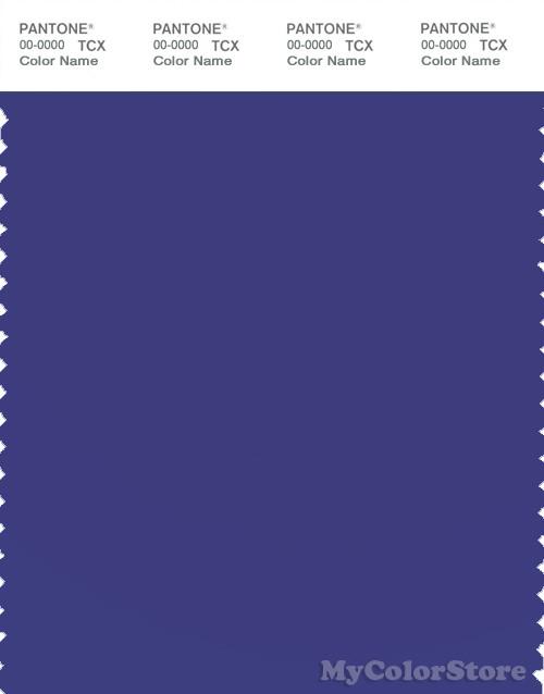 PANTONE SMART 18-3963 TCX Color Swatch Card, Spectrum Blue