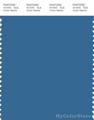 PANTONE SMART 18-4034X Color Swatch Card, Vallarta Blue