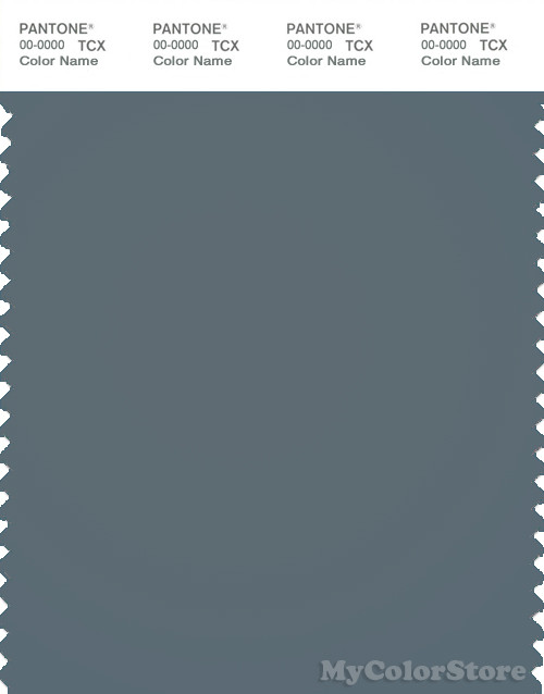 PANTONE SMART 18-4214 TCX Color Swatch Card, Stormy Weather