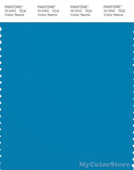PANTONE SMART 18-4330X Color Swatch Card, Swedish Blue