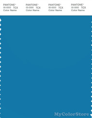PANTONE SMART 18-4334X Color Swatch Card, Mediterranian Blue