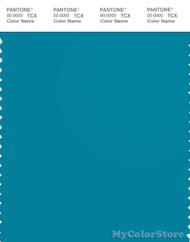 PANTONE SMART 18-4525X Color Swatch Card, Caribbean Sea