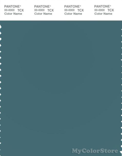 PANTONE SMART 18-4718 TCX Color Swatch Card, Hydro