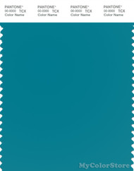 PANTONE SMART 18-4733X Color Swatch Card, Enamel Blue