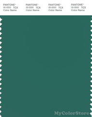 PANTONE SMART 18-5418X Color Swatch Card, Antique Green