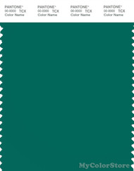 PANTONE SMART 18-5424X Color Swatch Card, Cadmium Green