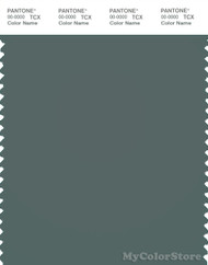 PANTONE SMART 18-5606X Color Swatch Card, Balsam Green