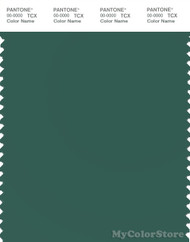 PANTONE SMART 18-5616X Color Swatch Card, Posy Green