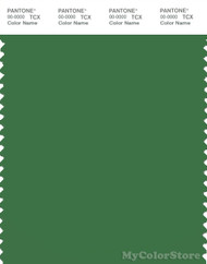PANTONE SMART 18-6330X Color Swatch Card, Juniper