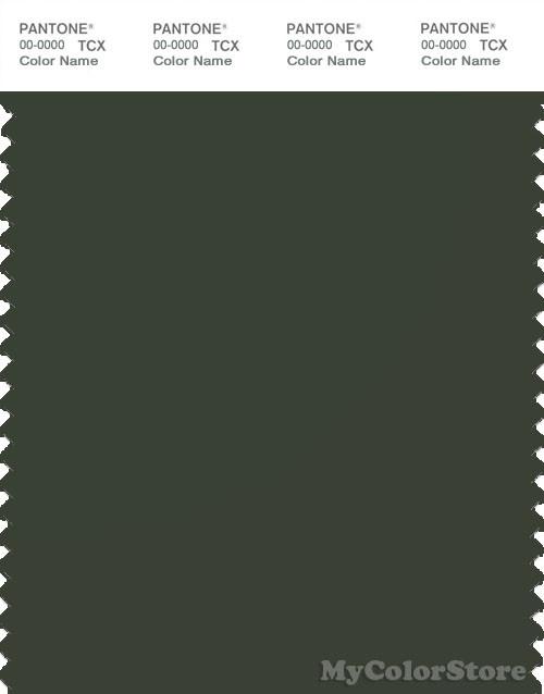 PANTONE SMART 19-0415X Color Swatch Card, Duffel Bag