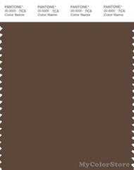 PANTONE SMART 19-1116X Color Swatch Card, Carafe