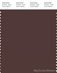 PANTONE SMART 19-1518X Color Swatch Card, Puce