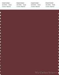 PANTONE SMART 19-1525X Color Swatch Card, Port