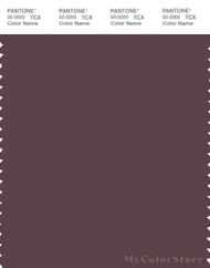 PANTONE SMART 19-1620X Color Swatch Card, Huckleberry