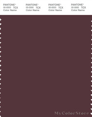 PANTONE SMART 19-1624X Color Swatch Card, Sassafras