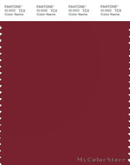 PANTONE SMART 19-1650X Color Swatch Card, Biking Red
