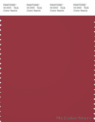 PANTONE SMART 19-1655X Color Swatch Card, Garnet