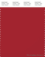 PANTONE SMART 19-1662X Color Swatch Card, Samba