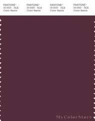 PANTONE SMART 19-1718X Color Swatch Card, Fig