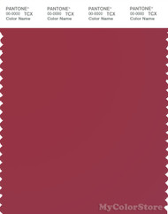 PANTONE SMART 19-1840X Color Swatch Card, Deep Claret