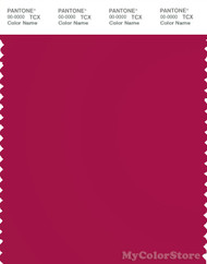 PANTONE SMART 19-1955X Color Swatch Card, Cerise