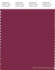 PANTONE SMART 19-2025X Color Swatch Card, Red Plum