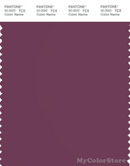 PANTONE SMART 19-2410X Color Swatch Card, Amaranth