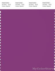PANTONE SMART 19-3138X Color Swatch Card, Byzantium