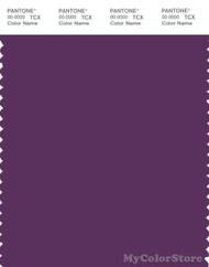 PANTONE SMART 19-3220X Color Swatch Card, Plum