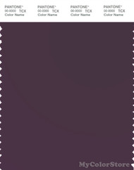 PANTONE SMART 19-3316X Color Swatch Card, Plum Perfect