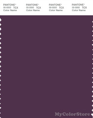 PANTONE SMART 19-3323X Color Swatch Card, Deep Purple