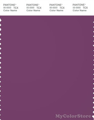 PANTONE SMART 19-3325X Color Swatch Card, Wood Violet