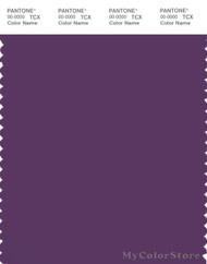 PANTONE SMART 19-3514X Color Swatch Card, Majesty