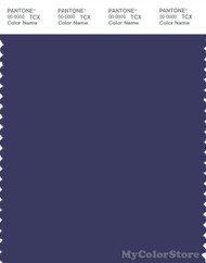 PANTONE SMART 19-3839X Color Swatch Card, Blue Ribbon