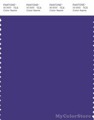 PANTONE SMART 19-3847X Color Swatch Card, Deep Blue