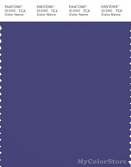 PANTONE SMART 19-3947X Color Swatch Card, Orient Blue