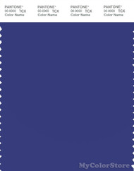 PANTONE SMART 19-3951X Color Swatch Card, Clematis Blue