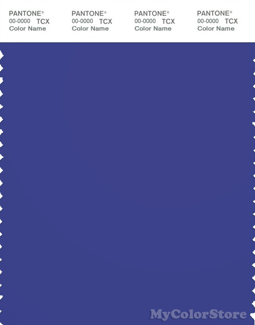 Muito PANTONE SMART 19-3955 TCX Color Swatch Card | Pantone Royal Blue GB95