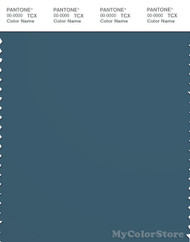 PANTONE SMART 19-4318X Color Swatch Card, Mallard Blue