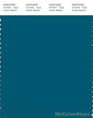PANTONE SMART 19-4340X Color Swatch Card, Lyons Blue