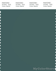 PANTONE SMART 19-4818X Color Swatch Card, Mallard Green