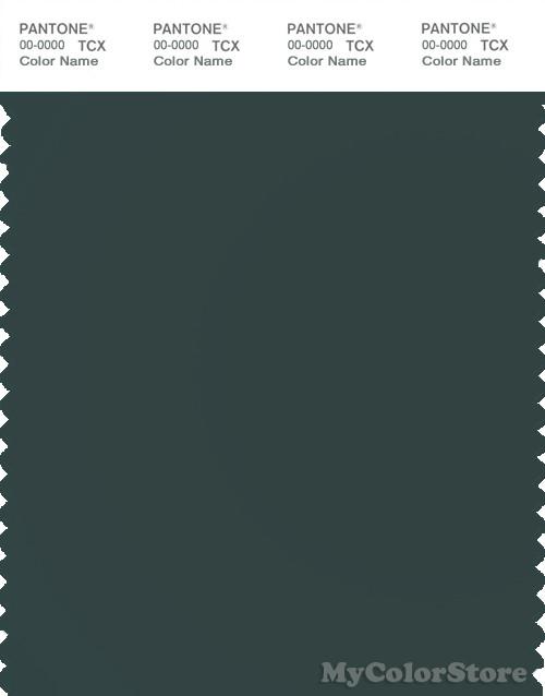 Pantone Smart 19 4906 Tcx Color Swatch Card Pantone Green Gables