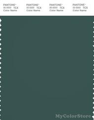 PANTONE SMART 19-5408X Color Swatch Card, Bistro Green