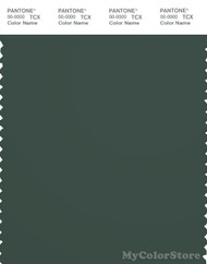 PANTONE SMART 19-5914X Color Swatch Card, Jungle Green
